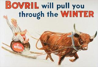 Bovril advert, 1927. Artist: Unknown