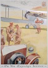 Advert for Dunlop tyres, 1934. Artist: Unknown