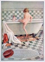 Pears soap advert, 1922. Artist: Unknown