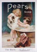 Pears soap advert, 1915. Artist: Unknown
