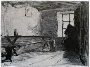 'The Miser', c1851 (1904).Artist: James Abbott McNeill Whistler