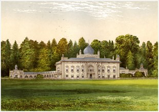 Sezincote, Gloucestershire, home of Baronet Rushout, c1880. Artist: Unknown