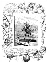 Illustration from Francis Quarles' Emblems, 1895. Artist: Unknown