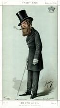 'He has Succeeded in Volunteering', Viscount Ranelagh, 1870.Artist: Carlo Pellegrini