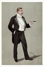 'A German Attache', Baron Hermann von Eckardstein, German diplomat, 1898.Artist: Spy
