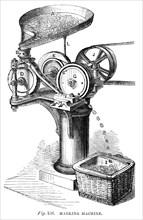 Marking Machine, 1866. Artist: Unknown