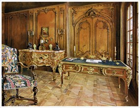 French panelled room, Wallace Collection, London, 1911-1912.Artist: Edwin Foley