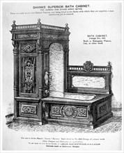Shanks' Superior Bath Cabinet, c1880 (1956). Artist: Unknown