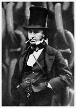Isambard Kingdom Brunel, British engineer, 1857 (1956).Artist: Robert Howlett