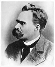 'Superman': Friedrich Nietzsche, German philosopher, 19th century (1956). Artist: Unknown