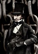 Isambard Kingdom Brunel, British engineer, 1857 (1956). Artist: Unknown