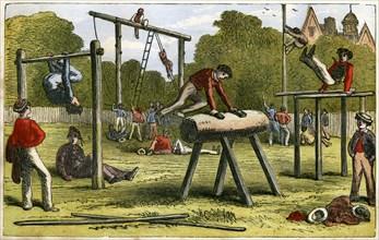 Gymnastics, 19th century(?). Artist: Unknown