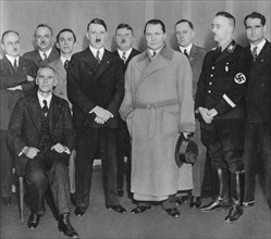 German Nazi party leaders, c1933(?). Artist: Unknown