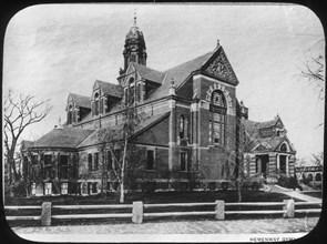 Hemenway Gymnasium, Harvard University, Massachusetts, USA, late 19th or early 20th century. Artist: Unknown