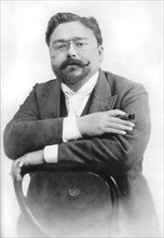 Isaac Albéniz (1860-1909), Spanish pianist and composer. Artist: A Esplugas