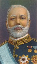 Count Hayashi Tadasu, (1850-1913), career diplomat and cabinet minister in Meiji period Japan, 1906. Artist: Unknown