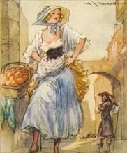 Eleanor Nell Gwyn (1650-1687) English born mistress of King Charles II, 1937. Artist: Alexander K MacDonald