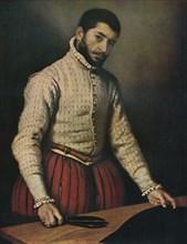 The Tailor (Il Tagliapanni), c1565, (1911). Artist: Giovanni Battista Moroni