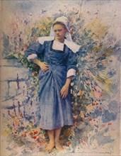 La Petite Marie, 1905. (1914). Artist: Mortimer L Menpes