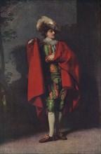 John Palmer as Count Almaviva in 'The Spanish Barber', 1779, (1917). Artist: Henry Walton