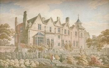 Marylebone Old Manor House: Garden Front, 1791, (1923). Artist: Michael Angelo Rooker