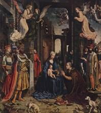The Adoration of the Kings, c1510, (1938). Artist: Jan Gossaert