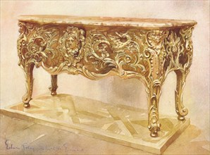 A dragon commode dated c1735-40, (c1903). Artist: Walter Eassie