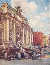 Fountain of Trevi, c1905. Artist: Alberto Pisa