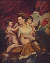 Lady Cockburn and her Three Eldest Sons, 1773, (1907). Artist: Sir Joshua Reynolds