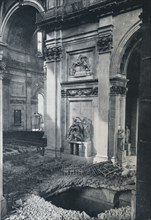 'North Transept of St. Paul's Cathedral after bombing, 1941'. Artist: Unknown.