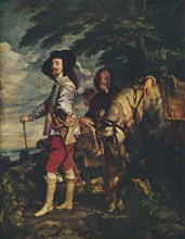 'Charles I at the Hunt', c1635. Artist: Anthony van Dyck.