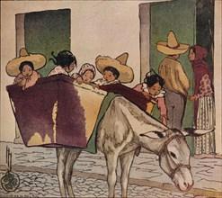 'An Interlude - The Breadman's Donkey', 1912. Artist: Helen Hyde.