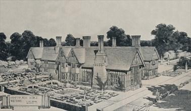 'Hamptworth Lodge, Wiltshire', c1910. Artist: Edward Guy Dawber.