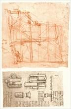 Two drawings, c1472-c1519 (1883). Artist: Leonardo da Vinci.