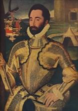 'Sir Charles Somerset', c1566. Artist: George Gower.