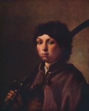 'A Boy with a Sabre', c17th century.