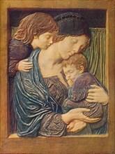 'Mother and Children', c1900. Artist: Robert Anning Bell.