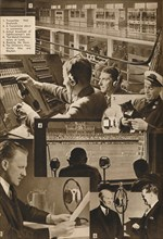 'A Visit to the BBC 1-6', 1937. Artist: Unknown.