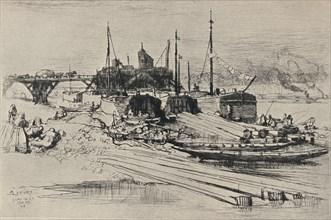 'Public Waste Dump, Quai de la Gare', 1915. Artist: Auguste Lepere.