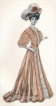 'A Catalogue Illustration of an Edwardian lady', c1908. Artist: Andre & Sleigh.