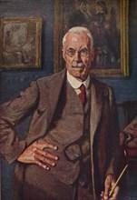 'Portrait of the Artist', 1932 (1935). Artist: Frederick Brown.