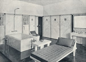 The Bathroom of the Stoclet Palace, Brussels, Belgium, c1914. Artist: Unknown.