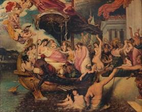 'Cleopatra's Arrival in Cilicia', 1821.  Artist: William Etty.