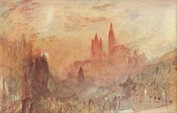 'Lausanne', 1909. Artist: JMW Turner.