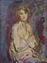 'Anna, Daughter of the Artist', 1905 (1935). Artist: Ambrose McEvoy.