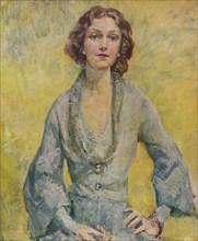 'The Duchess of Leinster', 1935. Artist: Mary McEvoy.