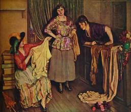 'The Blouse Shop', 1925. Artist: Isabel Codrington.