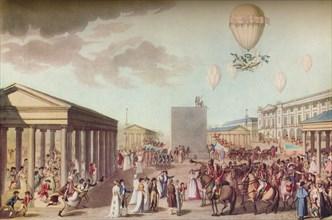 'Fete Du Sacre Et Couronnement De Leurs Majestes Imperiales', c1804. Artists: Marchand, Otto Limited.