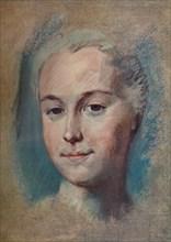 'La Camargo', c1743. Artist: Maurice-Quentin de La Tour.