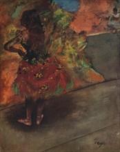 'Danseuse: Jupe Rouge', c1895. Artist: Edgar Degas.